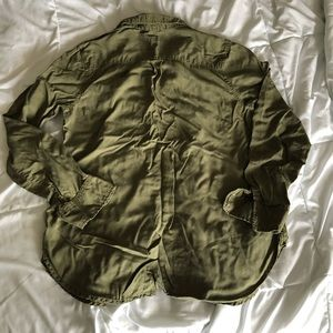 Merona Tops - Olive button up shirt from Merona (Target brand)